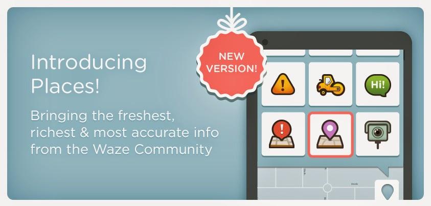 Waze Places, la nouvelle arme de Waze pour vous éviter de vous perdre