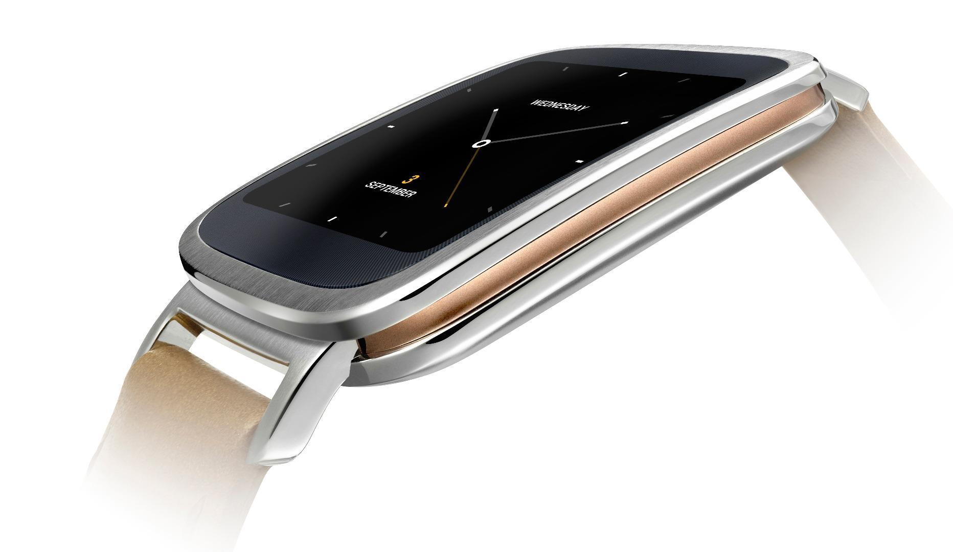 L'Asus ZenWatch sera disponible en France «pour Noël» à 229 euros