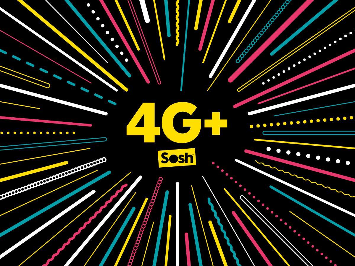 La 4G+ (LTE-Advanced) arrive chez Sosh sans surcoût
