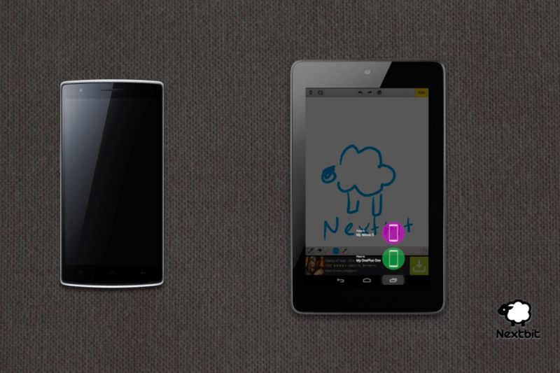 NextBit Baton : pour retrouver le contenu de ses applications ouvertes sur tous ses appareils Android