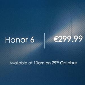 Honor 6 : une disponibilité immédiate à un juste prix