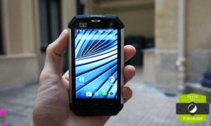Test du Cat B15Q, le smartphone de chantier increvable