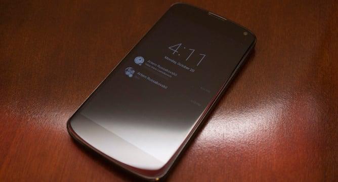 Nexus 6 : Ambient Display, la fonctionnalité reprise de l'Active Display du Moto X