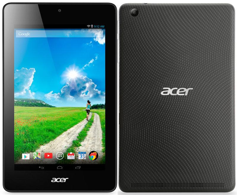 Acer Iconia One 7 B1-750 : une variante équipée d'un Intel Bay Trail