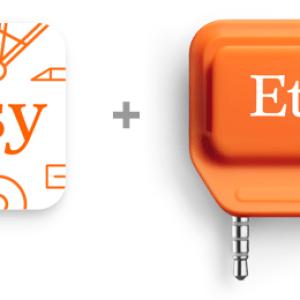 Etsy arrive dans le monde réel avec un lecteur de cartes bancaires