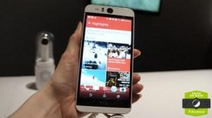 Prise en main du HTC Desire Eye, le plus abouti des selfie-phones