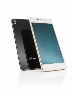 Kazam Tornado 348 : le smartphone le plus fin du monde avec 5,15 mm d'épaisseur et 95,5 grammes
