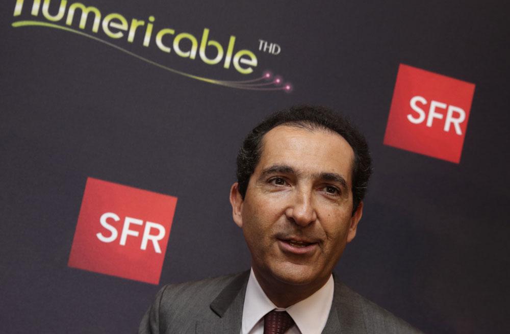 SFR Numericable : Patrick Drahi ne veut pas revendre l'opérateur français
