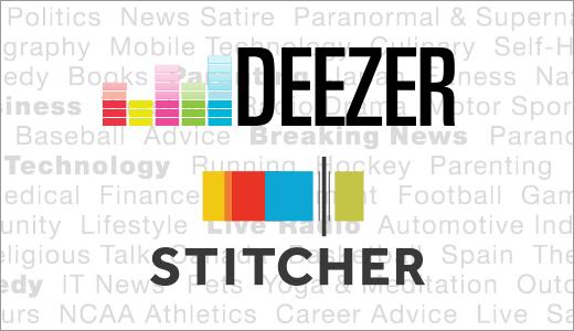 Deezer se met aux podcasts en achetant Stitcher
