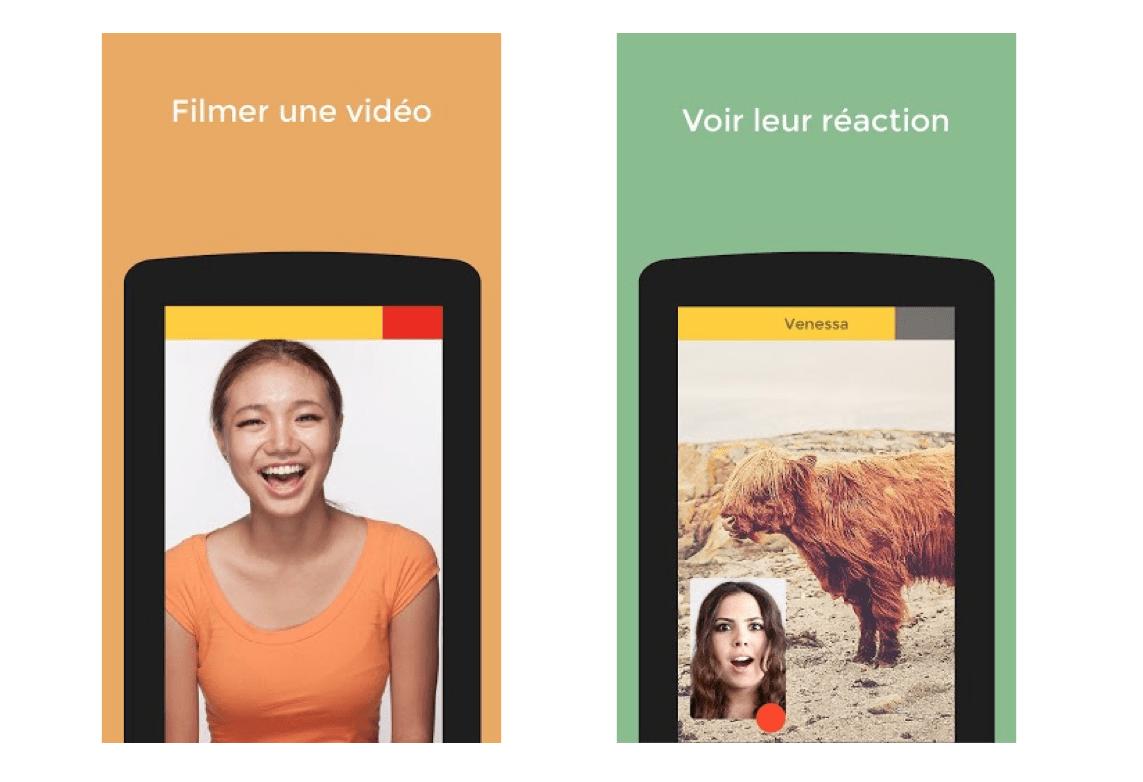 Samba, l'application de messagerie vidéo qui enregistre les réactions