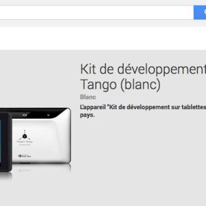 Project Tango : le kit de développement sur le Google Play