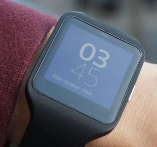 Test de la Sony SmartWatch 3, la montre sportive