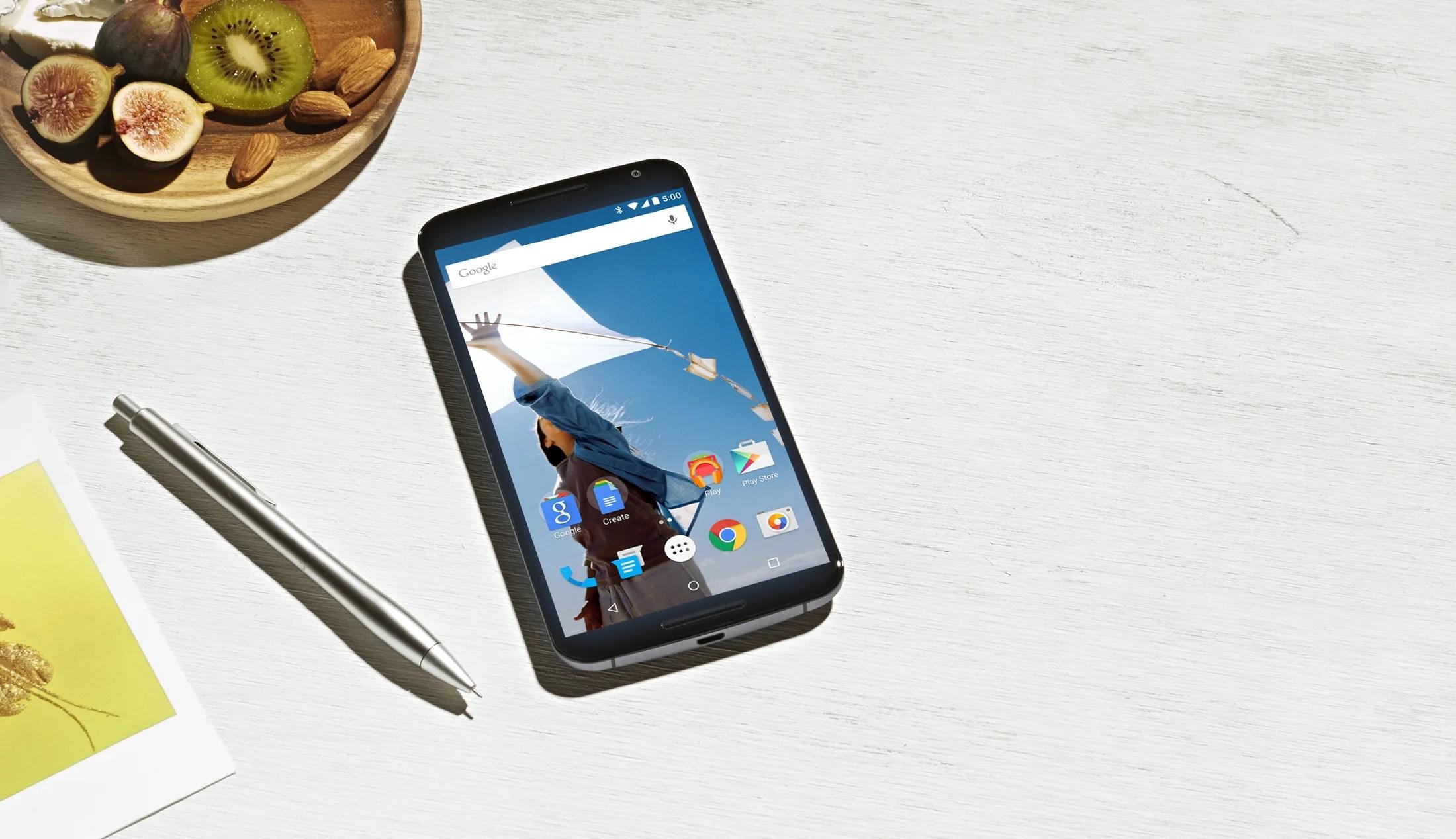 Le Nexus 6 est également en précommande chez Materiel.net