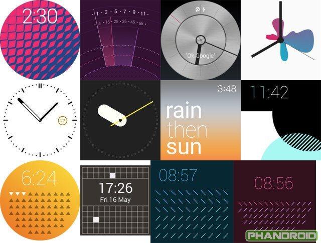 Android Wear : premier aperçu de la version Lollipop
