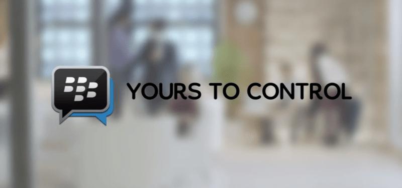 BlackBerry Messenger se met à jour et permet de rattraper vos messages après envoi
