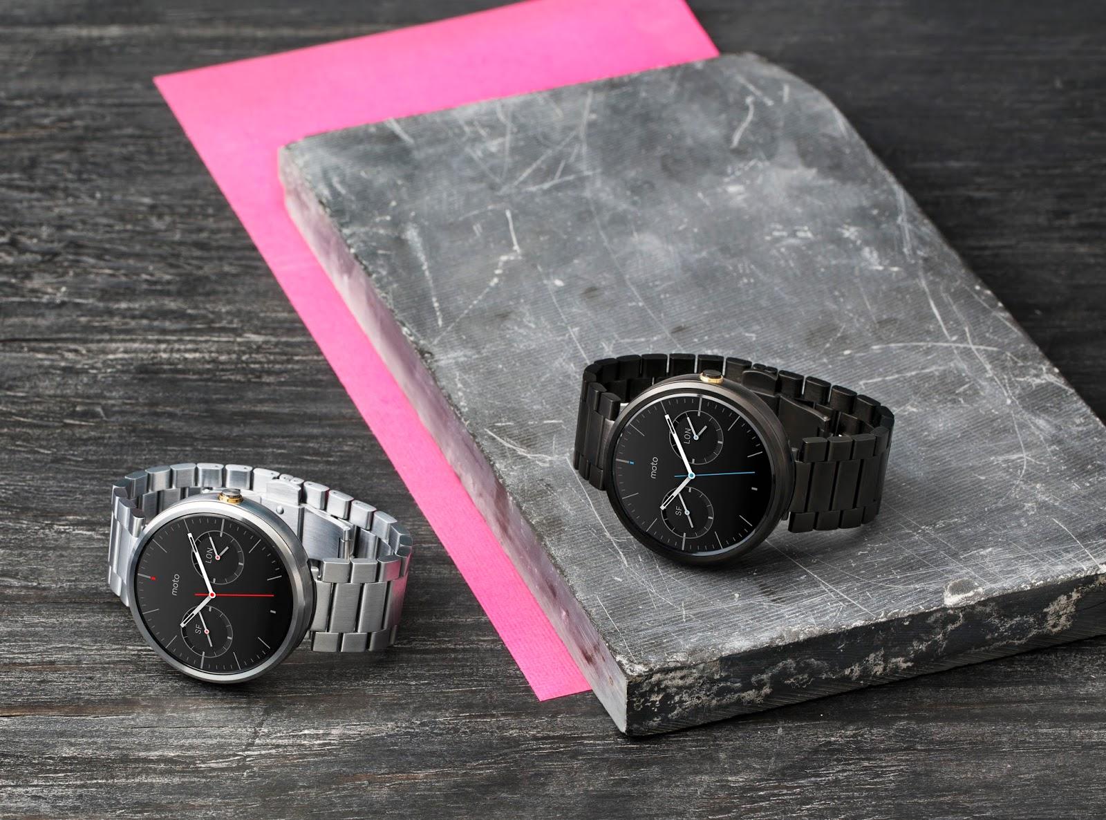 Motorola Moto 360 : une nouvelle version pour 2015 ?