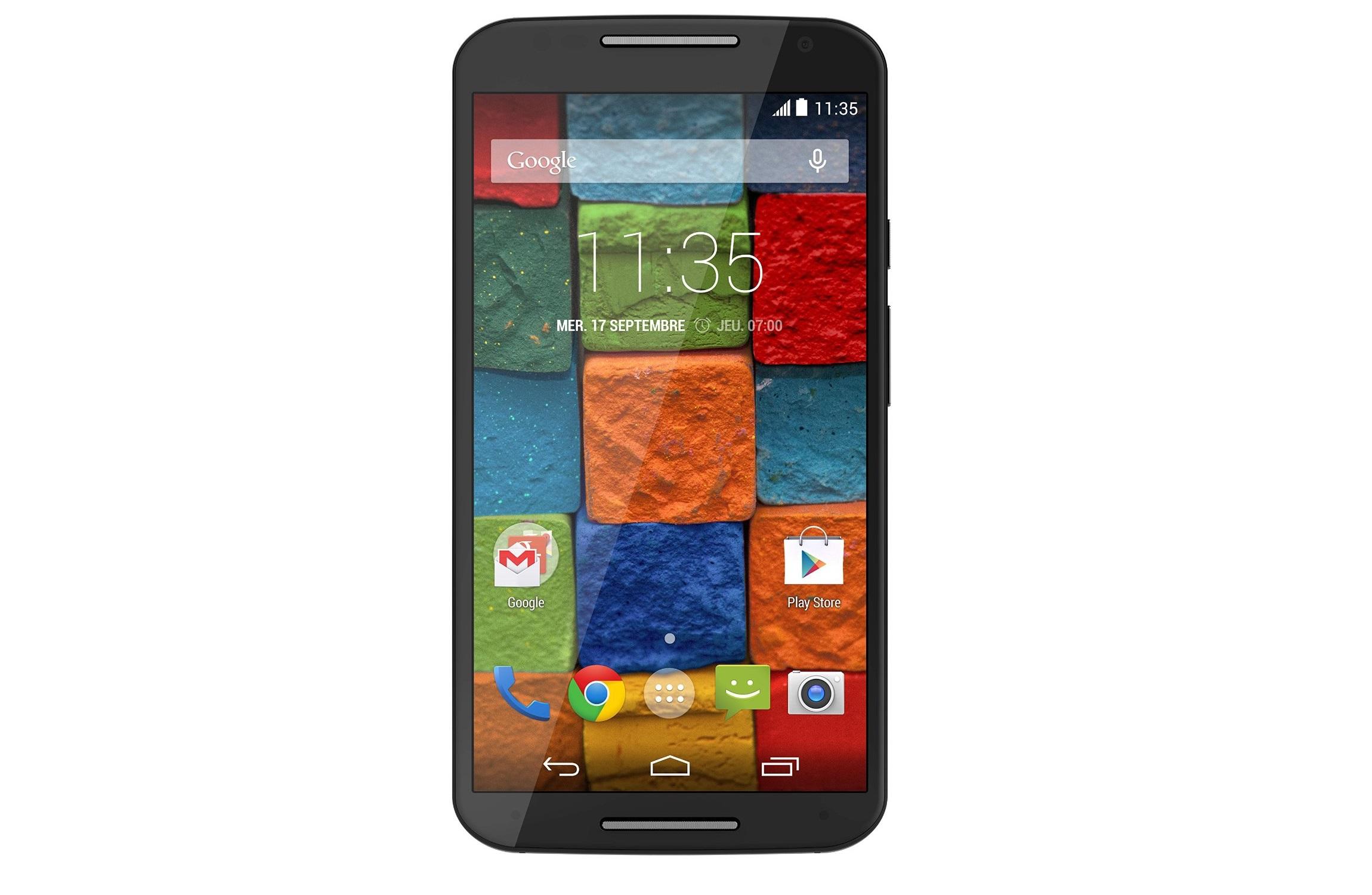 Le Motorola Moto X (2014) se décline en une version 64 Go