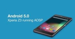 Sony met à disposition les sources AOSP de Lollipop 5.0.1 pour ses smartphones Xperia