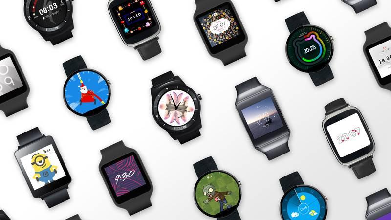 Android Wear passe à Android 5.0 et fait le plein de watch faces