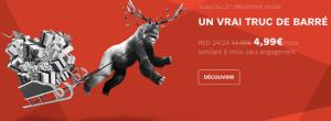 Et c'est fini, les promos sur les forfaits Red et SFR s'arrêtent le 21 décembre