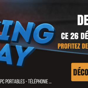 Materiel.net lance l'opération Boxing Day avec de grosses promotions