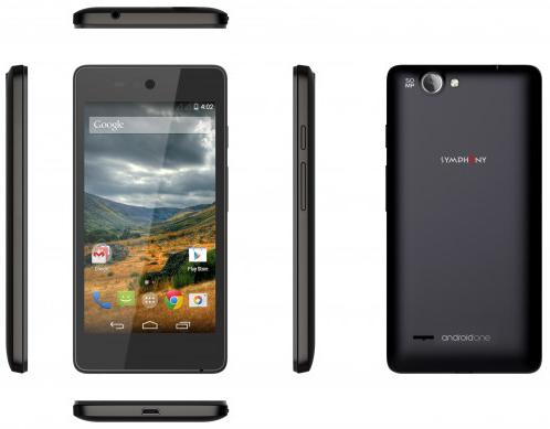 Symphony roar A50 : un quatrième smartphone Android One