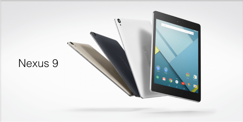 Bon plan : La Nexus 9 est à 339,90 €sur Amazon
