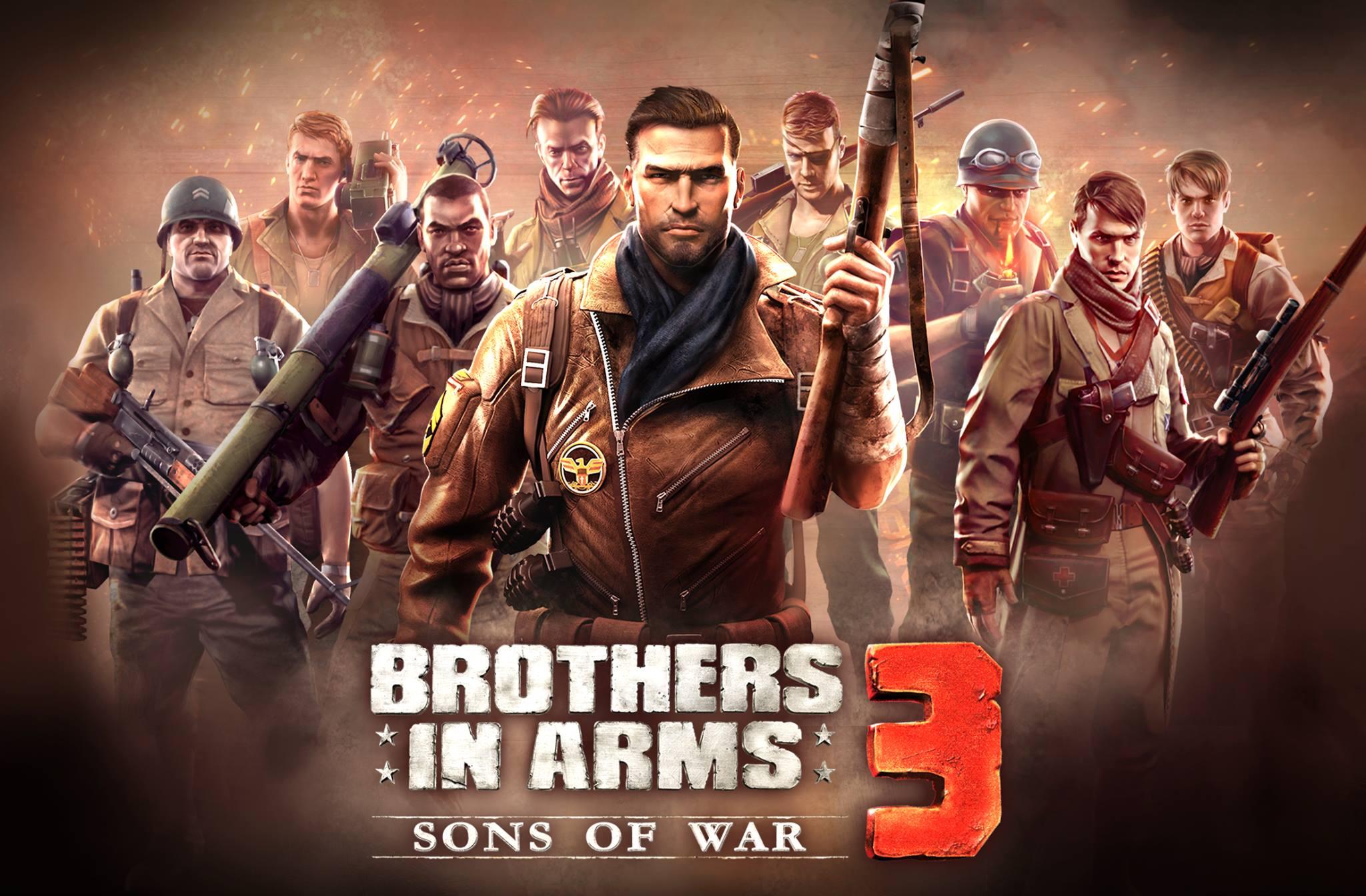 Brothers in Arms 3 : Sons of War se dévoile dans un trailer