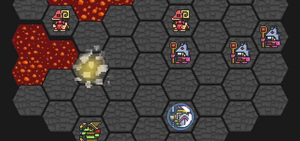 Hoplite est un mélange réussi de Rogue-like et de stratégie au tour par tour