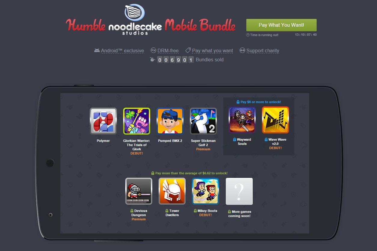 Humble Mobile Bundle : un nouveau pack de jeux issus du développeur Noodlecake (Pumped BMX 2, Wayward Souls) est disponible