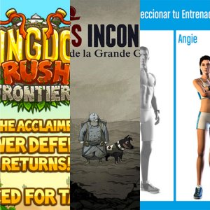 Les apps de la semaine : Drancia, Kingdom Rush Frontiers, Soldats Inconnus, Runtastic Six Pack Abs Workout et Lazy Swipe
