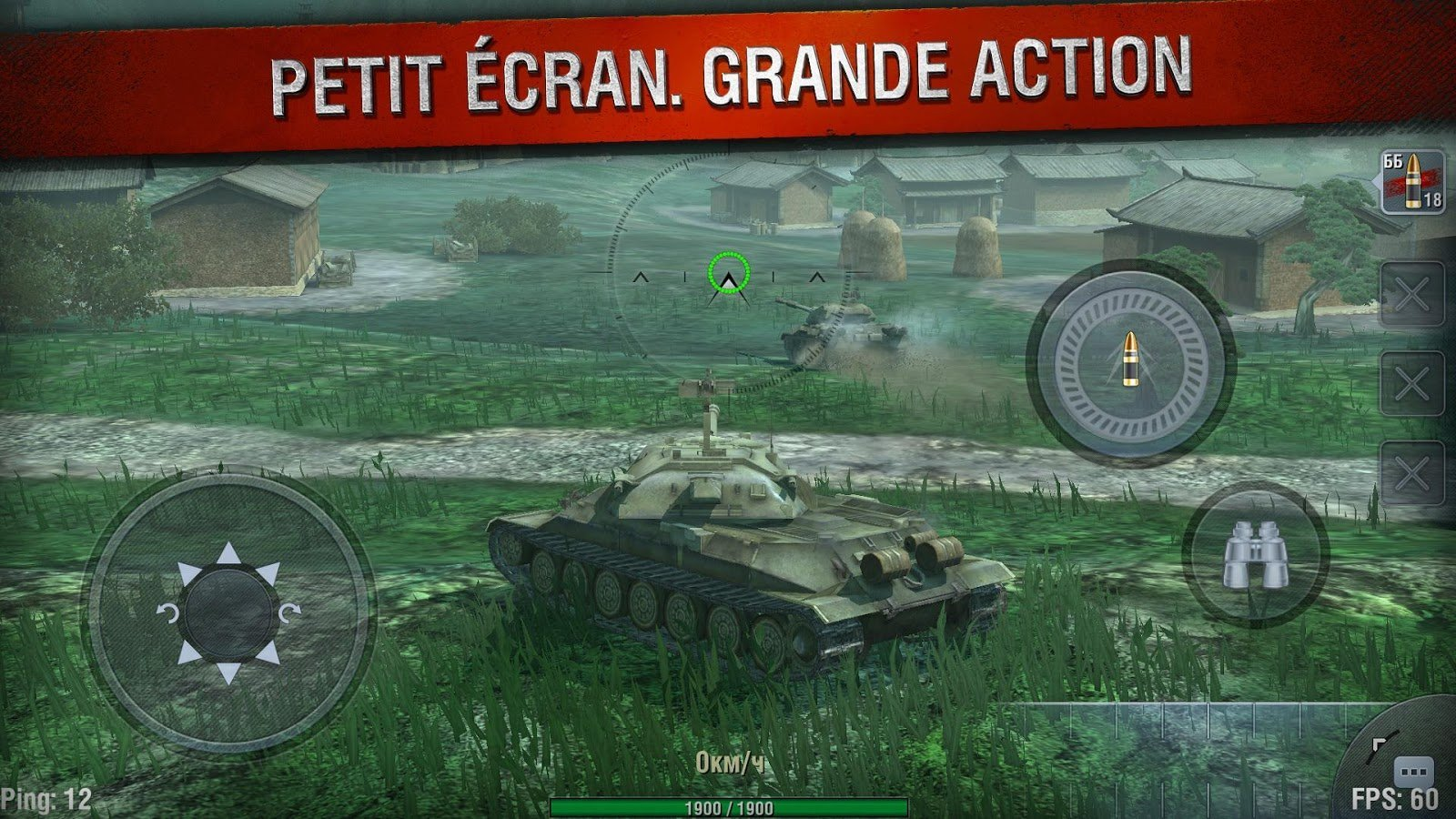 World of Tanks Blitz envoie du lourd sur Android