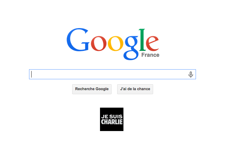 Google vient en aide à Charlie Hebdo avec 250 000 euros de fonds