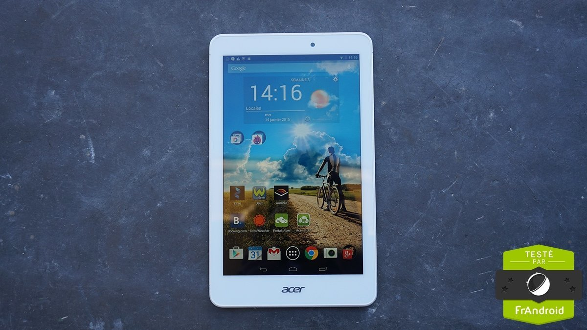 Test de l'Acer Iconia Tab 8, l'écran Full HD qui change tout
