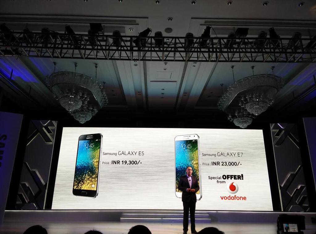 Galaxy E5 et E7 : des déclinaisons d'entrée de gamme des Galaxy A sans la 4G