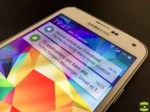 Samsung Galaxy S5 : le SM-G900F commence à recevoir Marshmallow