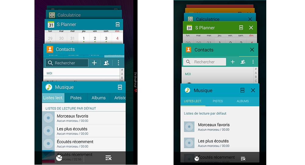 Galaxy S6 : une cure d'amaigrissement en vue pour Touchwiz ?
