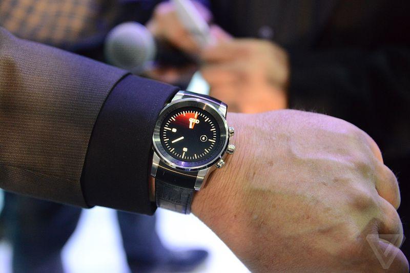 Une LG G Watch R édition spéciale Audi aperçue au CES