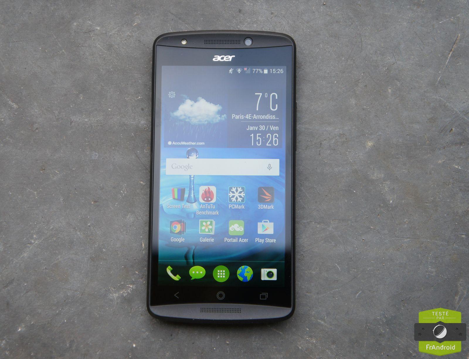 Test de l'Acer Liquid E700 : trois cartes sim, trois fois mieux ?
