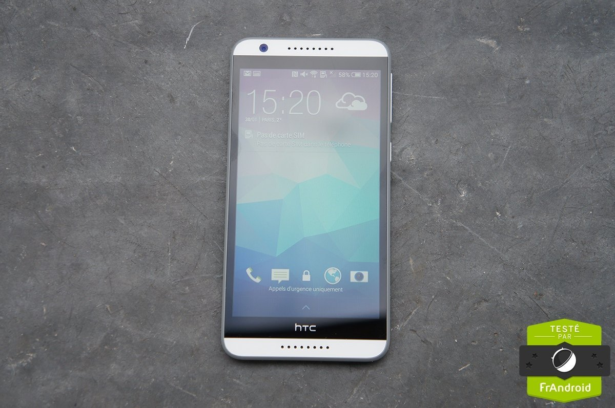 Test du HTC Desire 820, l'option multimédia