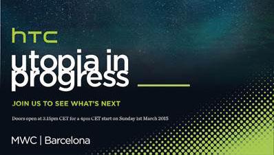 HTC devrait annoncer le One M9 et une smartwatch à l'occasion du MWC2015
