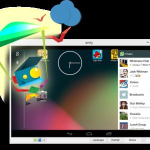 Andy vous permet d'émuler Android sur votre PC (ou votre Mac)