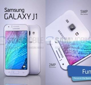 Samsung Galaxy J1 : et un entrée de gamme de plus, un