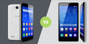 Honor 3c vs Honor Holly : le jeu des 7 différences