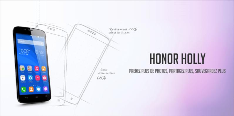 Honor Holly : il est disponible à la vente à 99,99 euros et pour tous
