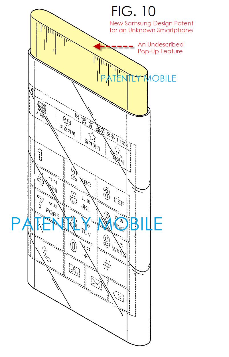 L'écran dual-edge aperçu dans un brevet Samsung pourrait être celui d'un prochain Galaxy