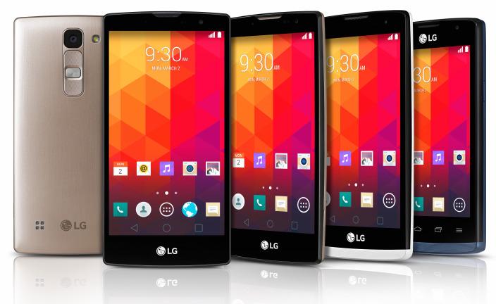 LG complète ses gammes avec quatre nouveaux smartphones sous Lollipop