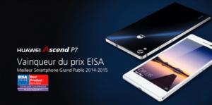 Bon plan : l'Ascend P7 de Huawei à 220 euros
