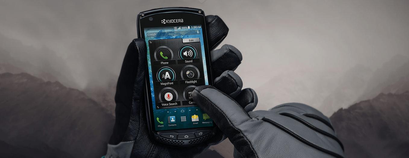 Kyocera DuraScout : un smartphone durci avec un écran Sapphire