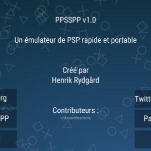 PPSSPP, un émulateur de PSP abouti pour Android